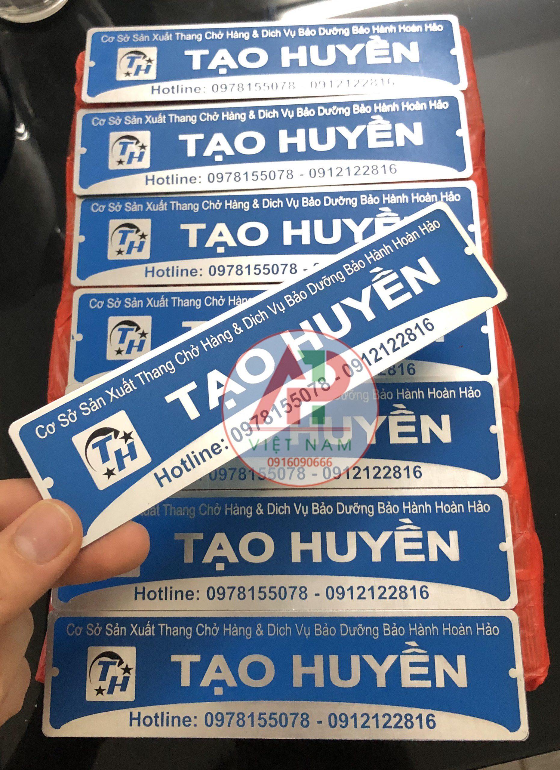 Tem nhãn inox APT Việt Nam